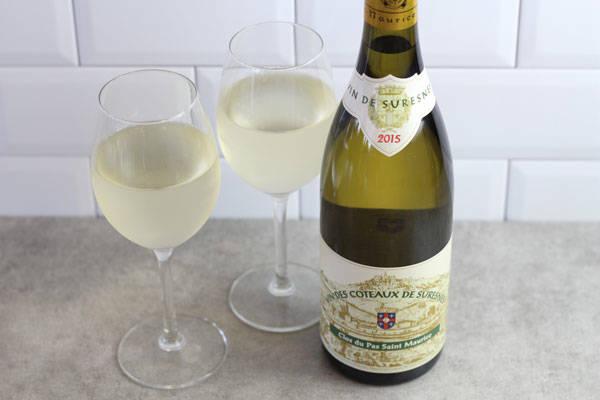 Vin blanc sec de Suresnes - Association du Clos du Pas Saint-Maurice