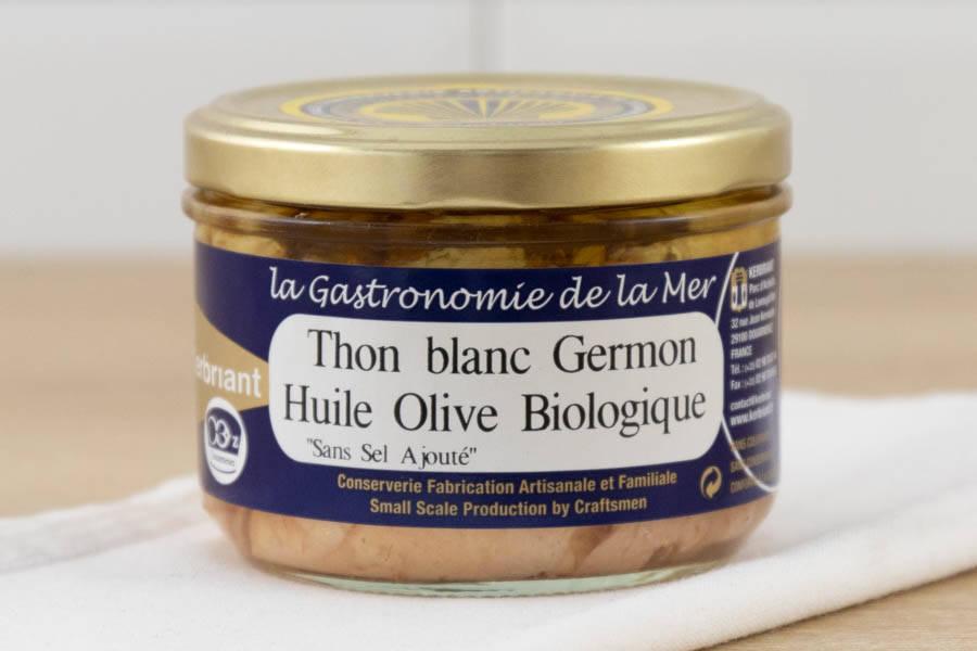 Thon blanc germon à l'huile d'olive - Conserverie artisanale Kerbriant - La Ruche qui dit Oui ! à la maison