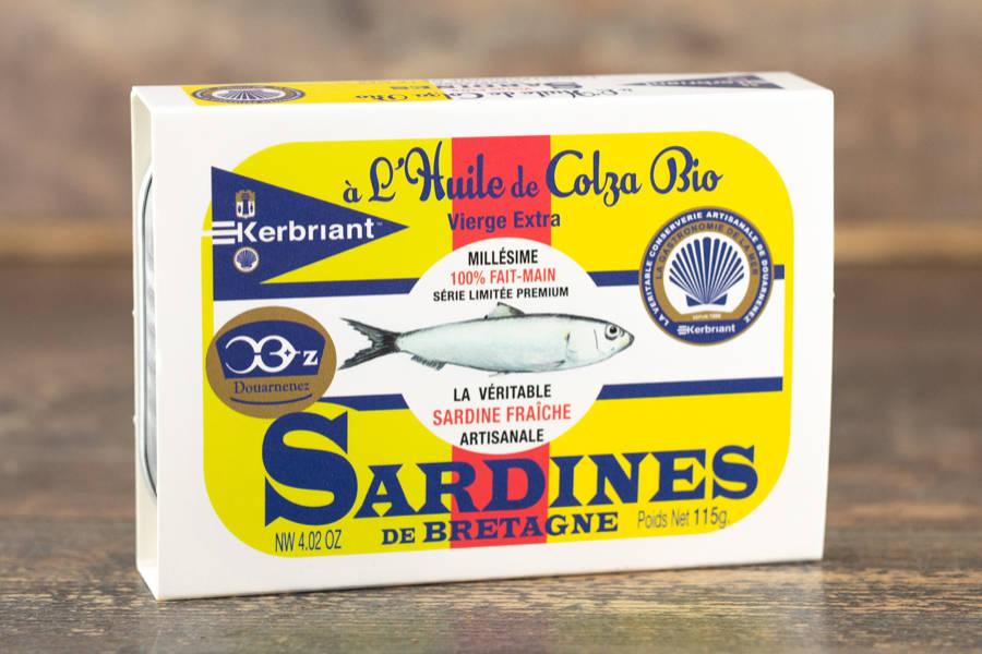 Sardines à l'huile de colza bio - Conserverie artisanale Kerbriant - La Ruche qui dit Oui ! à la maison