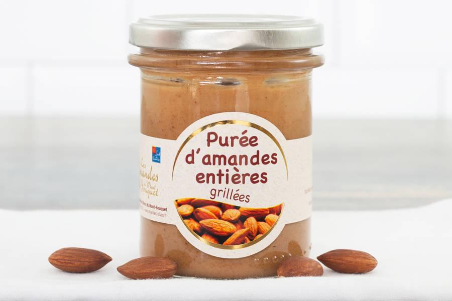 Purée d'amande complète grillée - Les amandes du Mont Bouquet - La Ruche qui dit Oui ! à la maison