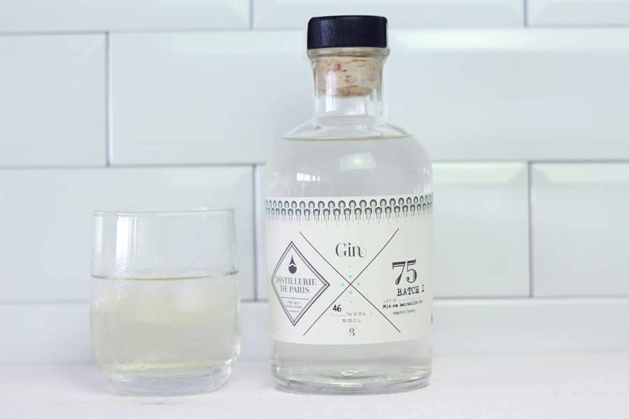 Gin Batch 1 - Distillerie de Paris - La Ruche qui dit Oui ! à la maison