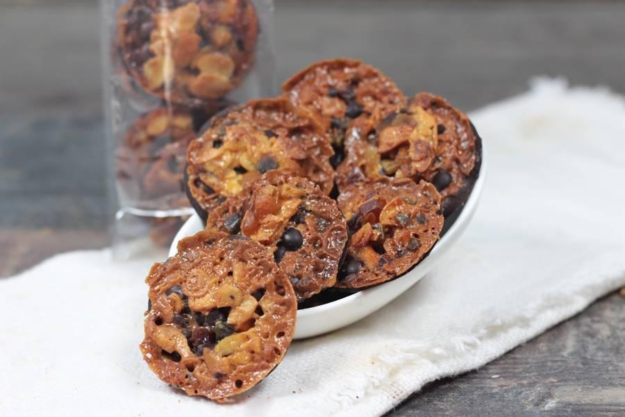 Florentins au chocolat noir - Le Furet Tanrade - La Ruche qui dit Oui ! à la maison