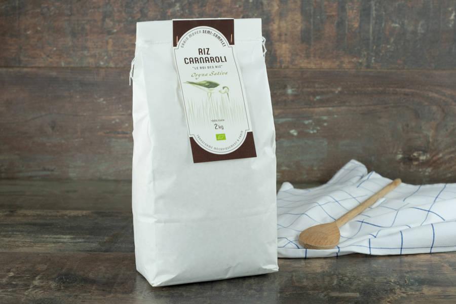 Riz Carnaroli semi complet 2kg - BIO - Umile - La Ruche qui dit Oui ! à la maison
