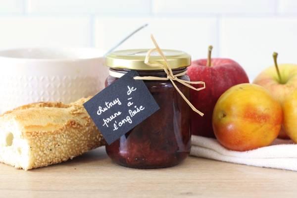 Chutney  de prunes à l'anglaise - La Fée dans les Bois