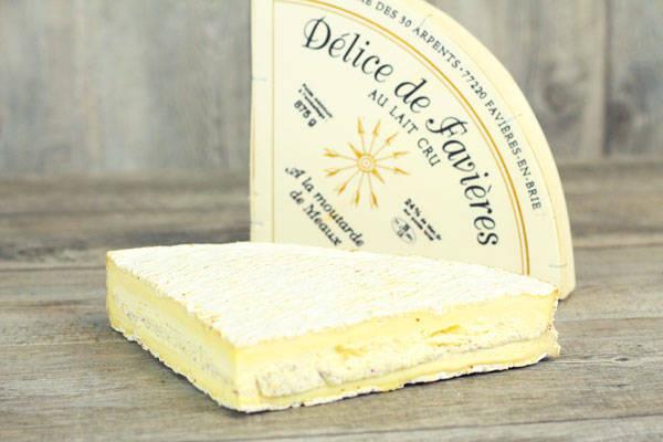 Quart de délice de Favières à la moutarde - Domaine des 30 Arpents