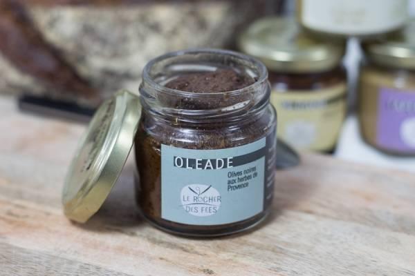 Oléade olives noires aux herbes de Provence - Le rocher des fées