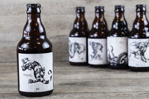 Bière Salamandra - Brasserie de l'Etre