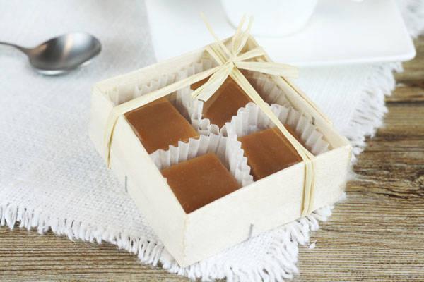 Caramels nature boite de 4 - Les Nicettes