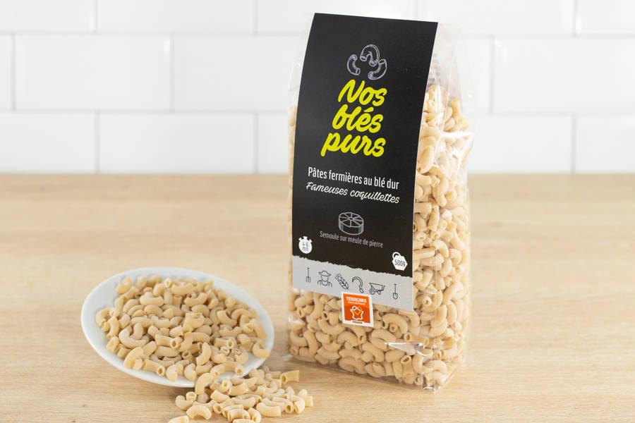 Coquillettes - Nos blés purs - La Ruche qui dit Oui ! à la maison
