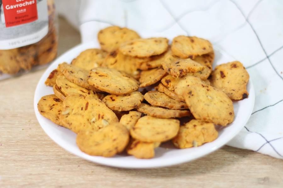 Biscuits chorizo & noisettes - Les Gavroches - La Ruche qui dit Oui ! à la maison