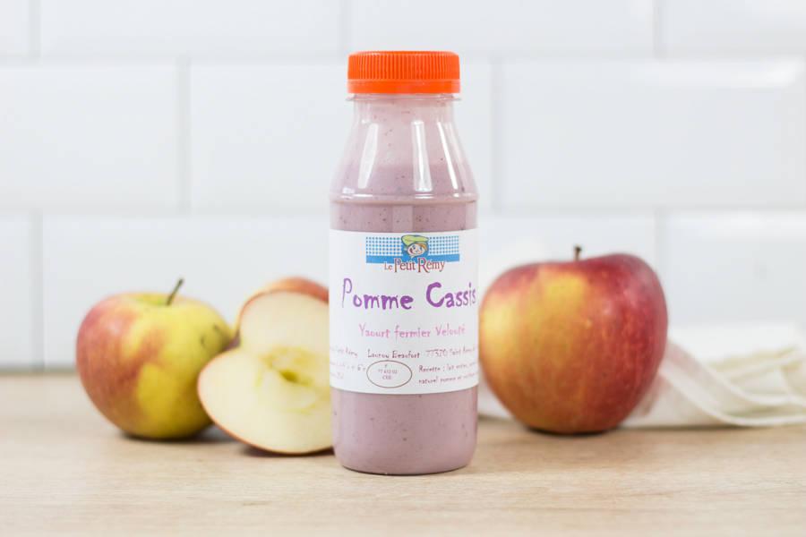 Yaourt fermier velouté Pomme-Cassis - Ferme du petit Rémy - La Ruche qui dit Oui ! à la maison