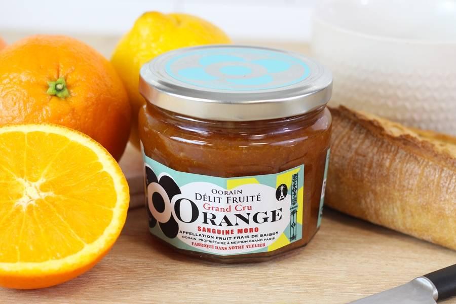 Marmelade Orange Sanguine moro de Sicilia - Oorain - La Ruche qui dit Oui ! à la maison