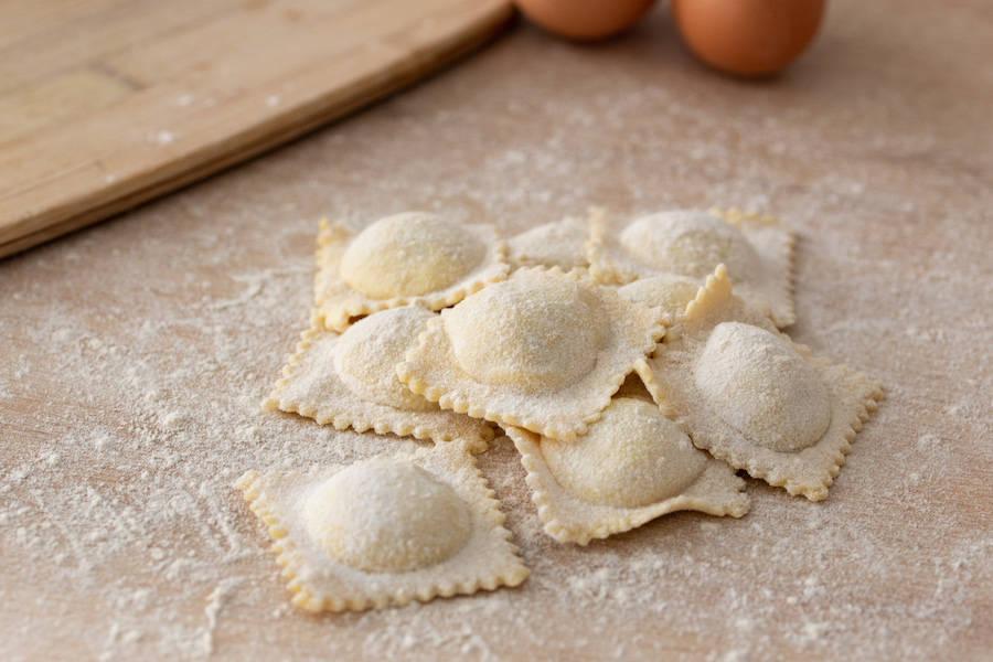 Ravioli à la truffe - Tour All'Italiana - La Ruche qui dit Oui ! à la maison