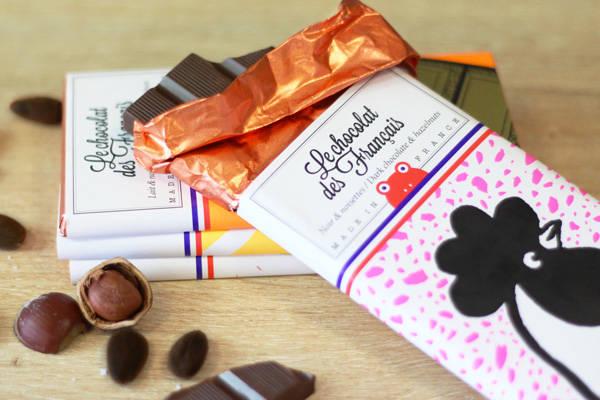 Coq chocolat noir & noisettes - Le Chocolat des Français