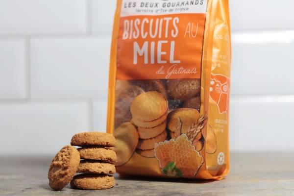 Biscuits au miel du Gâtinais - Les Deux Gourmands
