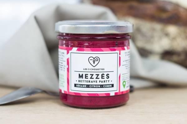 Mezzés BIO Betterave Party - Les 3 Chouettes - Le Comptoir Local