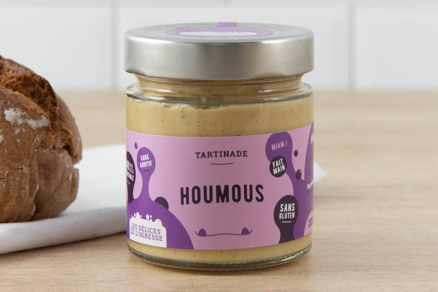 Houmous BIO - Les Délices de l'Ogresse - La Ruche qui dit Oui ! à la maison