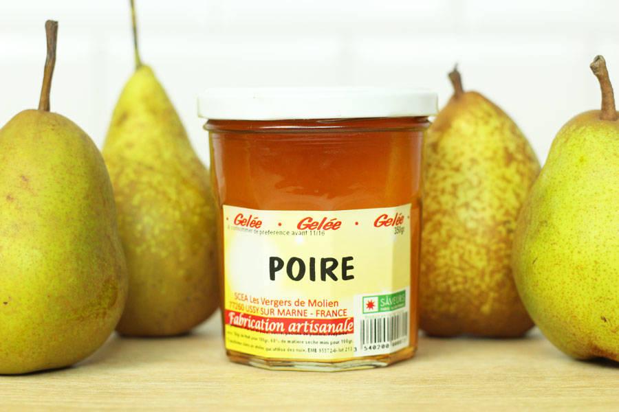 Gelée de poire - Vergers de Molien - La Ruche qui dit Oui ! à la maison