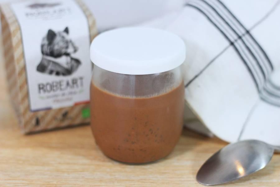 Nectar de chia au chocolat BIO - Robeart & Co - La Ruche qui dit Oui ! à la maison