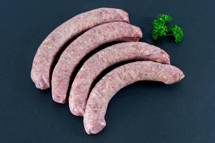 Chipolatas pur bœuf - Ferme les Barres - La Ruche qui dit Oui ! à la maison