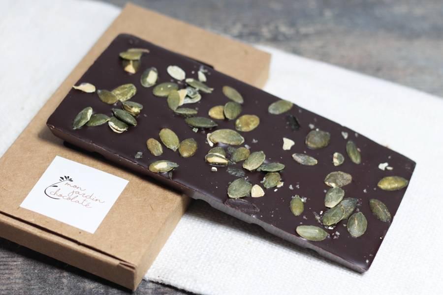 Tablette aux graines BIO - Mon Jardin Chocolaté - La Ruche qui dit Oui ! à la maison