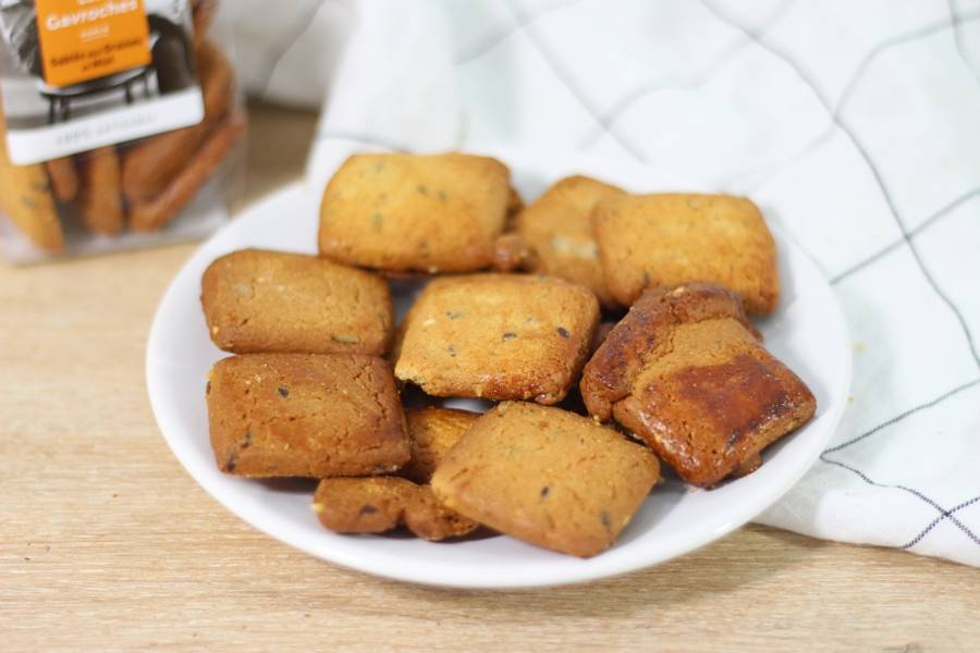 Carrés graines & miel - Les Gavroches - La Ruche qui dit Oui ! à la maison