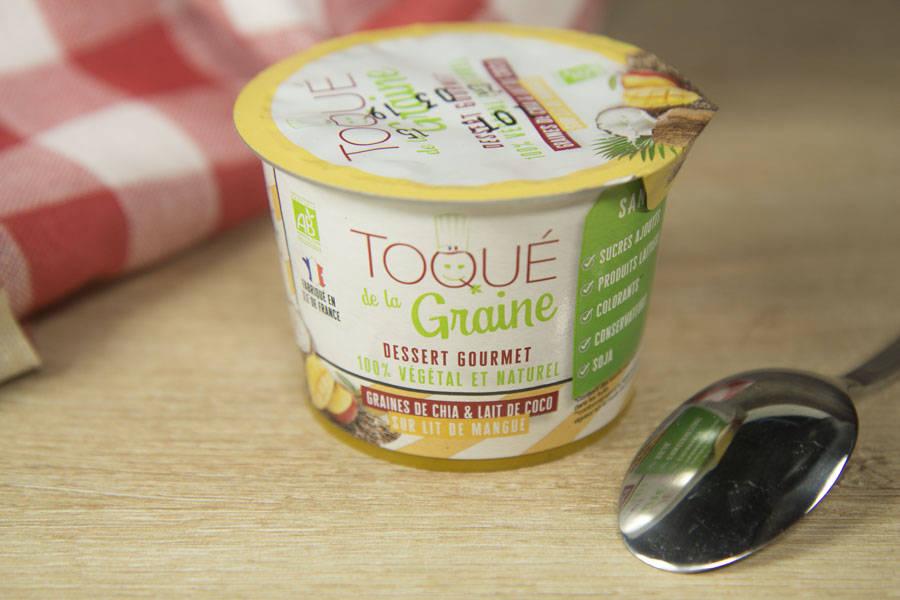 Dessert onctueux 100% végétal MANGUE BIO - Toqué de la Graine - La Ruche qui dit Oui ! à la maison