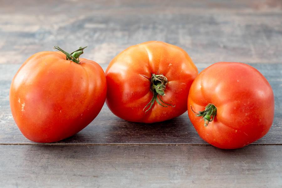 Tomate Coeur de Boeuf - Les Fruits Rouges de mon Jardin - La Ruche qui dit Oui ! à la maison