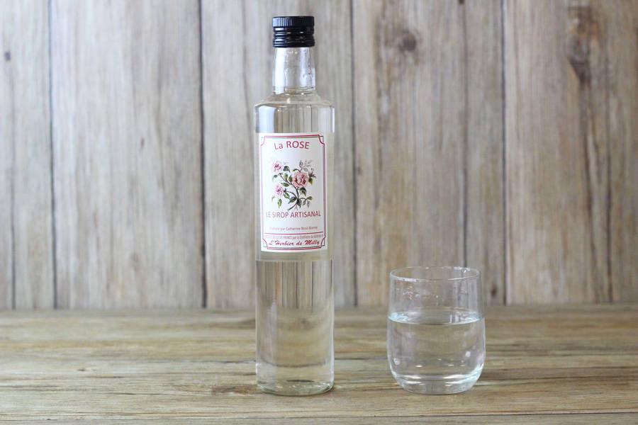 Sirop artisanal à la rose - L'Herbier de Milly - La Ruche qui dit Oui ! à la maison