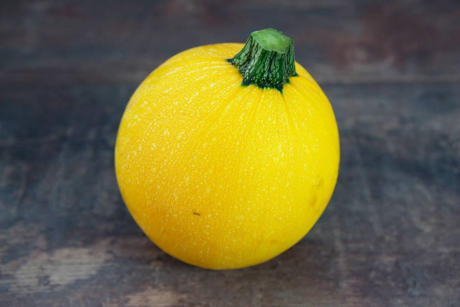 Courgette ronde jaune BIO - Les jardins d'Héricourt - La Ruche qui dit Oui ! à la maison