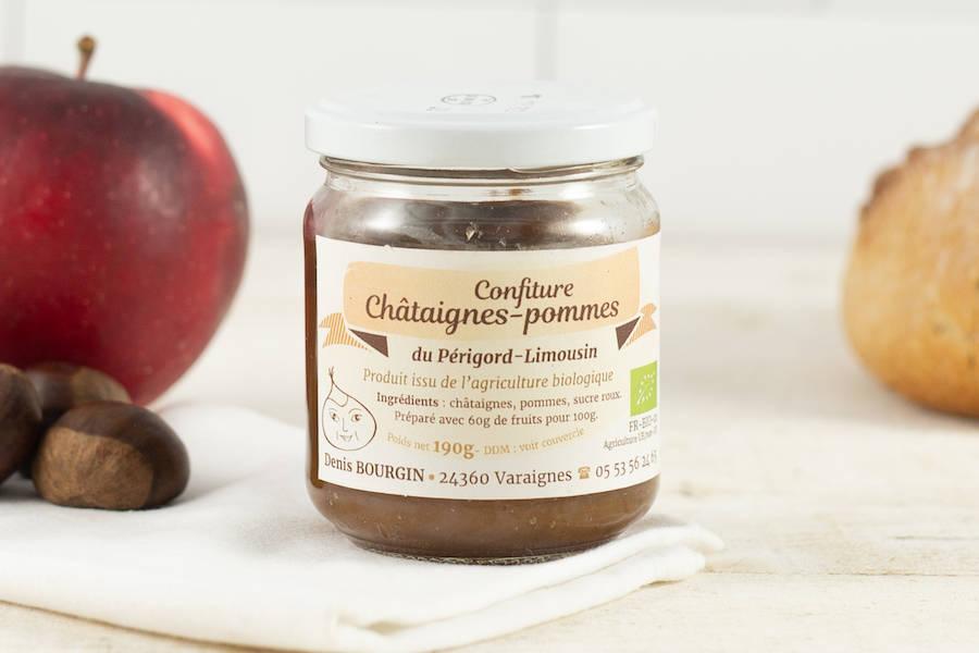 Confiture chataigne pomme BIO - Châtaigne Gourmande - La Ruche qui dit Oui ! à la maison