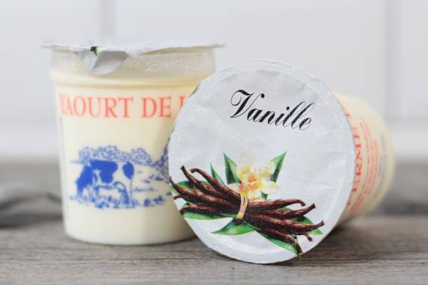 Yaourt à la vanille - Ferme de Saint-Thibault des Vignes