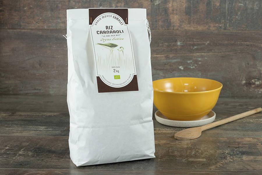 Riz Carnaroli Complet 2kg - BIO - Umile - La Ruche qui dit Oui ! à la maison