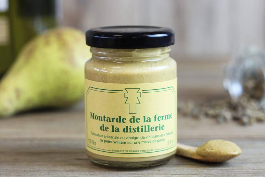 Moutarde de la ferme de la distillerie  - Ferme de la Distillerie - La Ruche qui dit Oui ! à la maison