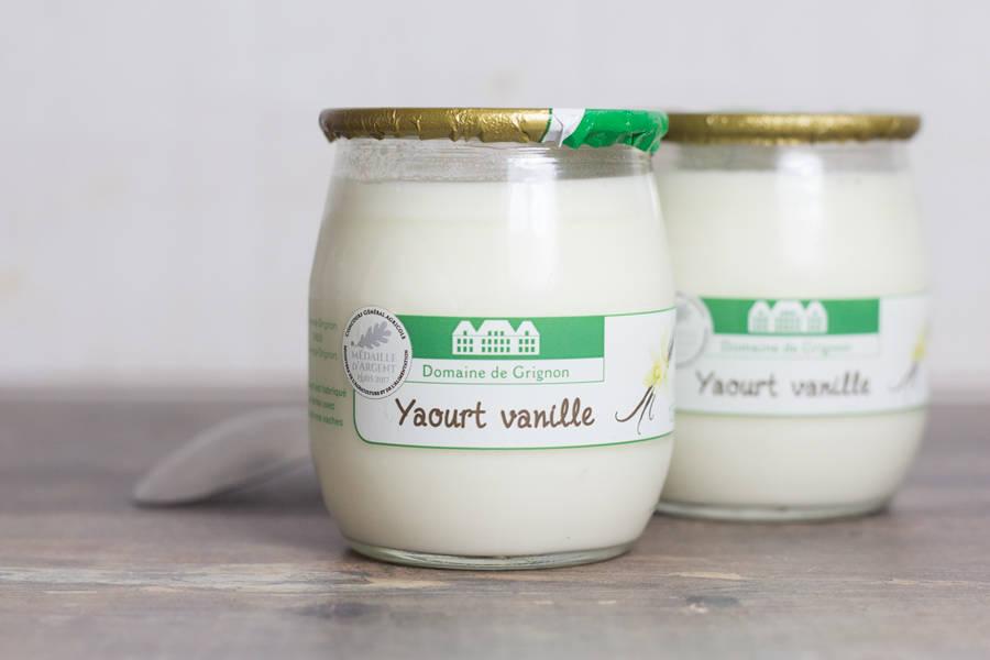 Yaourt Vanille - Ferme de Grignon - La Ruche qui dit Oui ! à la maison