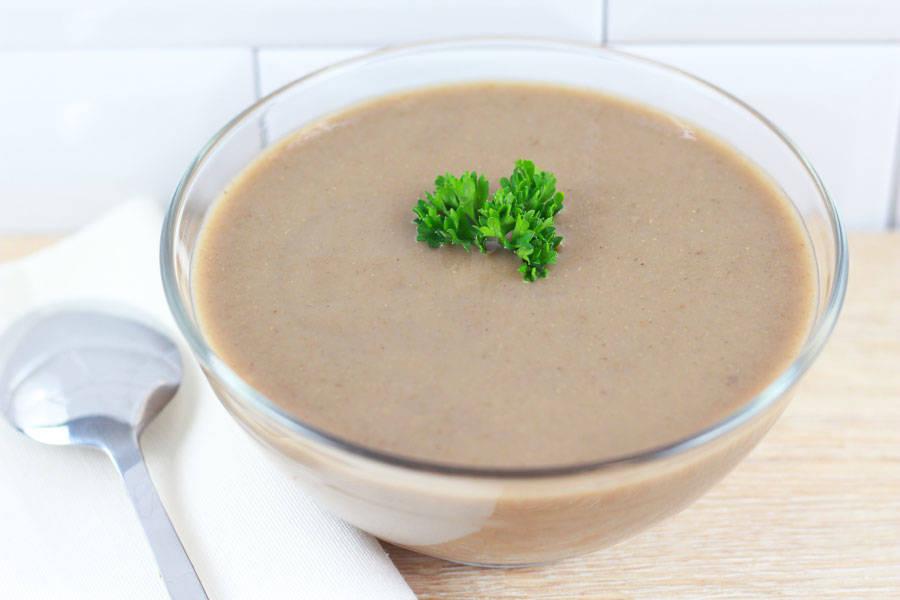 Soupe fraîche champignons châtaignes - Entre Saveur et Jardin - La Ruche qui dit Oui ! à la maison