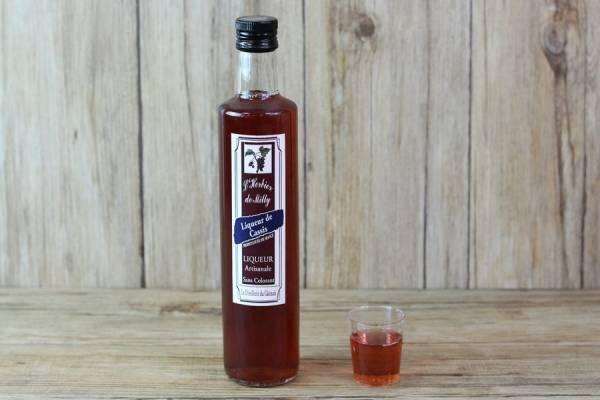 Liqueur de cassis - L'Herbier de Milly