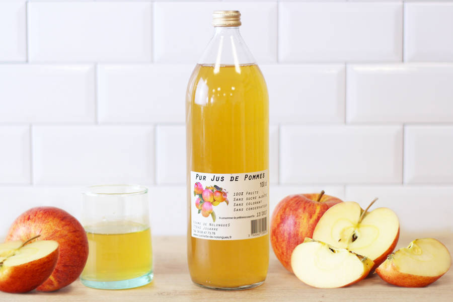 Jus de pomme - Cueillette de Nolongue - La Ruche qui dit Oui ! à la maison