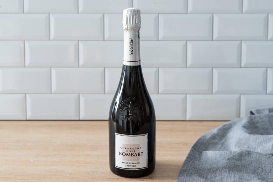Champagne Blanc de blancs - AOC Champagne - Champagne Hervé Bombart - La Ruche qui dit Oui ! à la maison