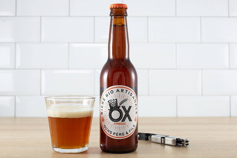 Ox ambrée BIO 33 cl - Brasserie Ox - La Ruche qui dit Oui ! à la maison