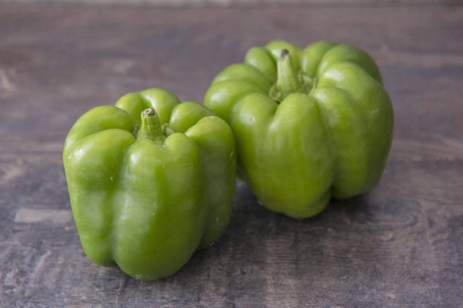 Poivron vert BIO - Le Potager de la Grenouillère - La Ruche qui dit Oui ! à la maison