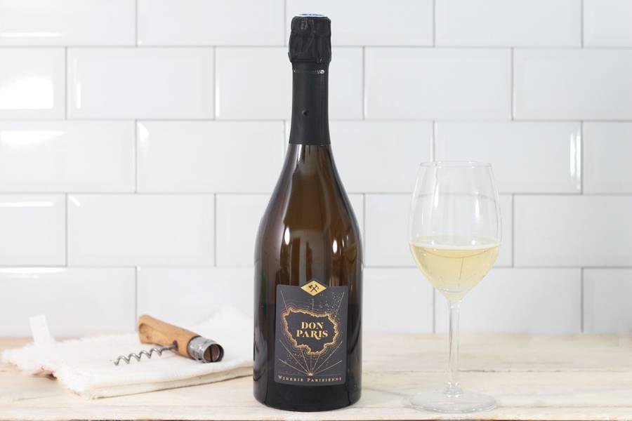Don Paris blanc de blanc - La Winerie Parisienne - La Ruche qui dit Oui ! à la maison