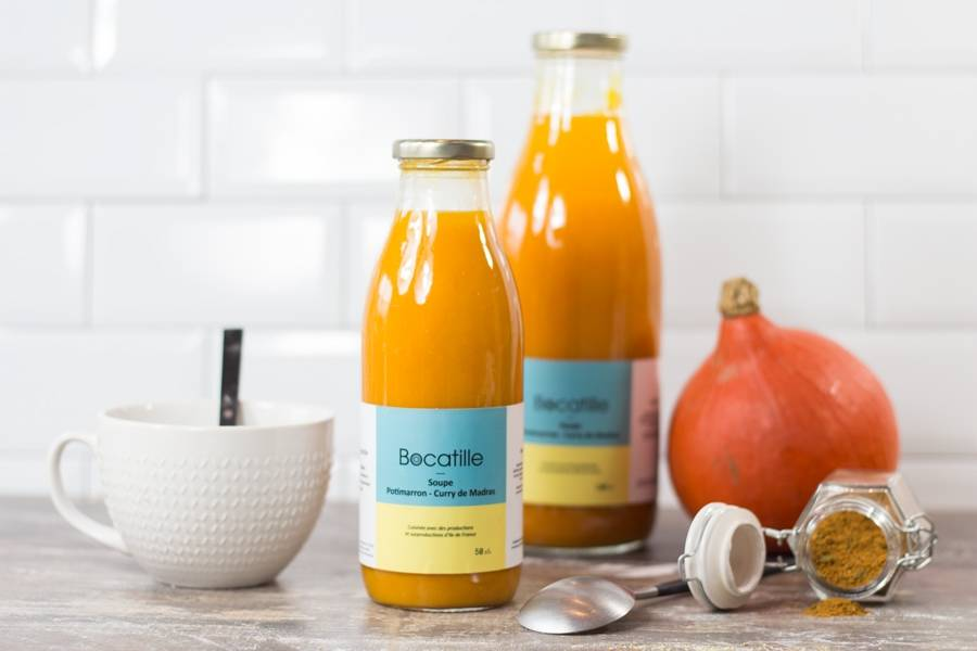 Soupe de Potimarron Curry 50cL - Conserverie de Larnière - La Ruche qui dit Oui ! à la maison