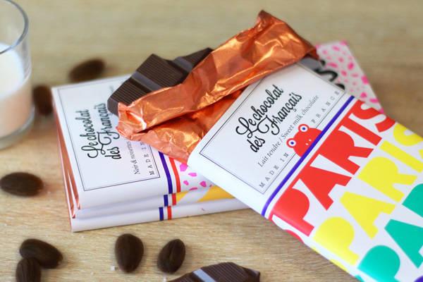 Paris arc-en-ciel lait tendre - Le Chocolat des Français