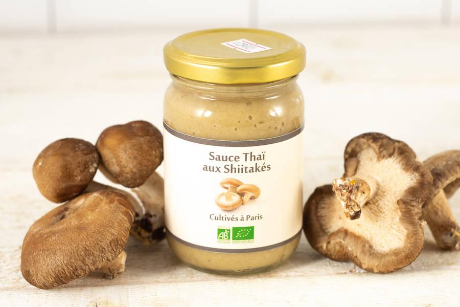 Sauce Thai aux Shiitakés BIO - La Caverne - La Ruche qui dit Oui ! à la maison