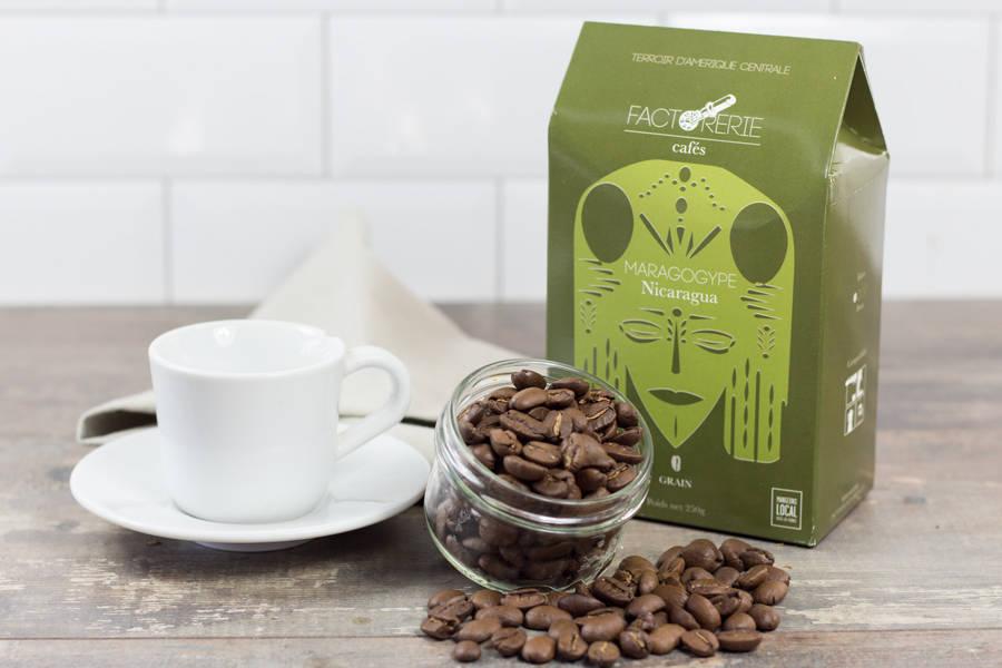 Maragogype grains - Cafés Factorerie - La Ruche qui dit Oui ! à la maison