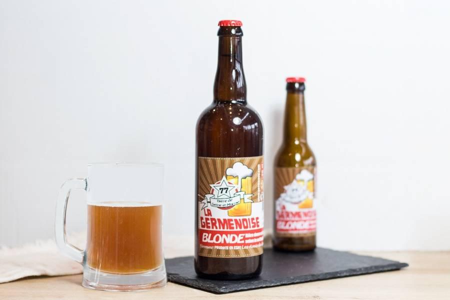La Germenoise blonde 75cl - Association les amis de Germenoy - La Ruche qui dit Oui ! à la maison