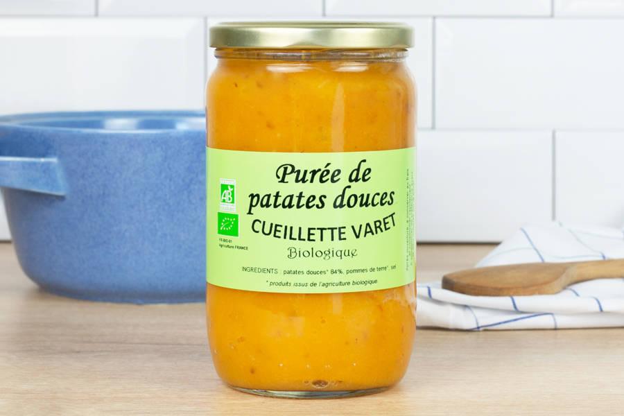 Purée de patate douce - Conserverie de la cueillette Varet - La Ruche qui dit Oui ! à la maison
