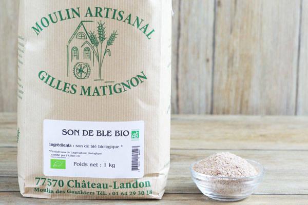 Son de blé BIO - Moulin artisanal Gilles Matignon