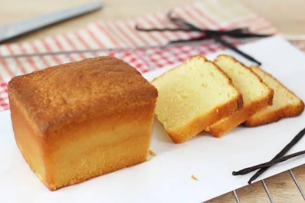 Cake à la vanille - Les Desserts d'Ici